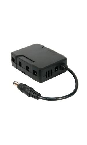 Convertidor DC-DC para videograbadoras - Convertidor DC-DC para videograbadoras de 4 canales modelo DVR4/DC.Ref: dvr4dc