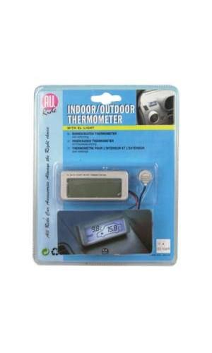 Termómetro de Coche IN/Out - Termómetro de coche para temperatura exterior e interior.Ref: ea-28749