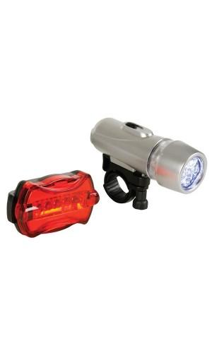 Juego luces para bicicleta - Juego de luces para bicicletas.Ref: ebl10