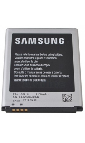 Bateria de repuesto para Batería Samsung Galaxy S3 i9300  - Batería Samsung Galaxy S3 i9300 - EB-L1G6LLU -.Ref: eb-l1g6llu