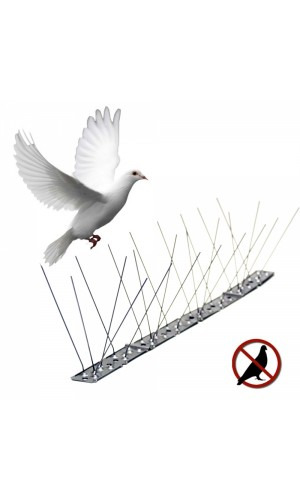 Varilla disuasoria para aves 1 mts - Varilla disuasoria para aves de 1 metro.Ref: 06072