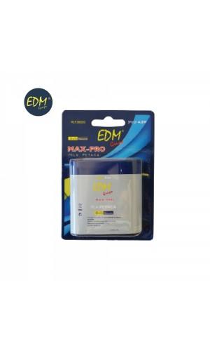 Pila petaca  3R12 4,5V EDM