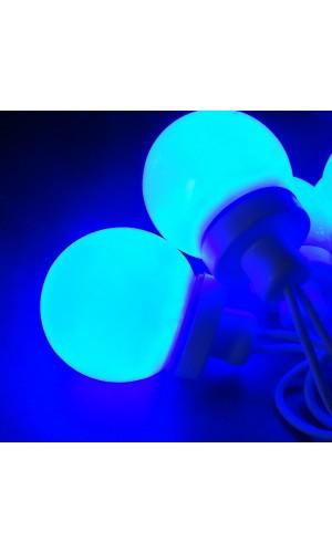 Cadena de Luz Festiva color Azul