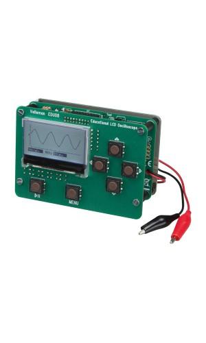 Kit educativo con Osciloscopio - Kit educativo para montar,con osciloscopio con pantalla LCD.Ref: edu08
