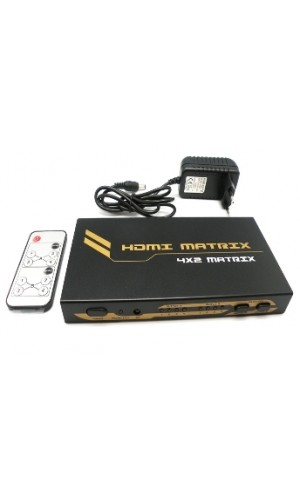 Matrix HDMI 4x2 Euroconex