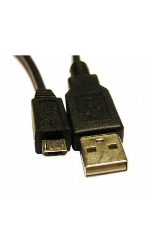 Conexión USB 2.0 A Macho - Micro A Macho - Conexión USB 2.0 A Macho a  Micro A Macho.Ref: 0783
