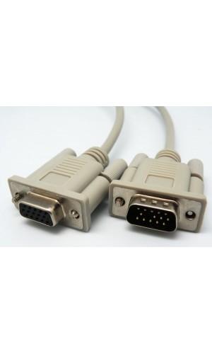 Conexión VGA , HDB15M - HDB15H