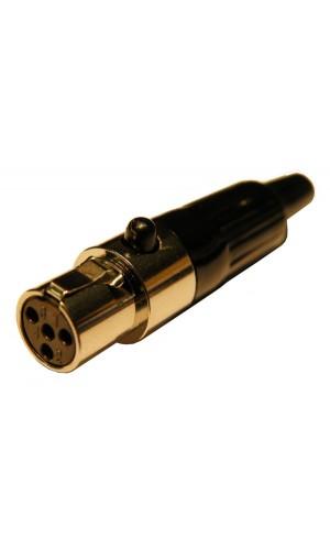 Conector MINI MICRO Hembra de 4 pins