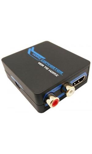 Convertidor de VGA+R/L a HDMI - Convertidor de VGA+ Audio R/L a HDMI.Ref: vh001