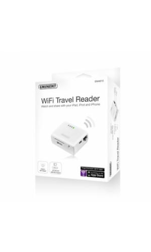 Lector WiFi para viaje Eminent EM4610