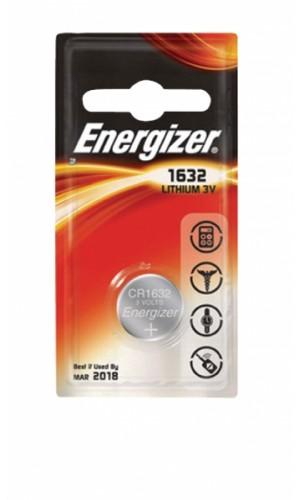 Pila Energizer CR1632 Litio 3V - Pila Energizer CR1632 Litio 3V.Ref: encr1632
