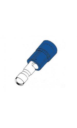 Terminal hembra tipo cilíndricos - Azul - Terminal hembra tipo cilíndrico azul 4.9mm.Ref: fbmb