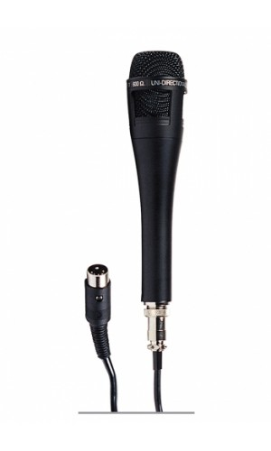 Micrófono dinamico conector DIN - Micrófono dinámico de mano para usos generales y profesionales. con conector DIN 180º.Especial para Autobuses.Ref.fdm-1060-4