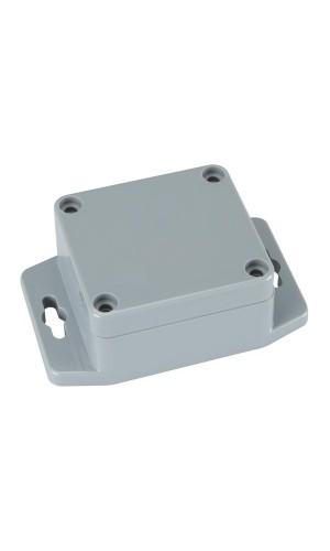 Caja ABS sellada con brida de montaje - Caja ABS sellada con brida de montaje de 64x58x35mm.Ref: g302mf