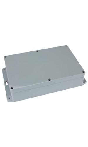 Caja ABS sellada con brida de montaje - Caja ABS sellada con brida de montaje 171x121x80mm.Ref: g340mf