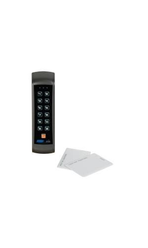 Teclado digital con lector de tarjetas