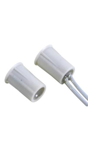 Contacto magnético cilíndrico - Contacto magnético precableado  - 0.5A @ 100V DC - NC - Ref: haa306