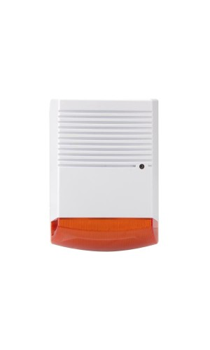 Caja simulada exterior - Alarma dummy de aspecto profesional para efecto disuasorio.Ref: sec-dummyfl20