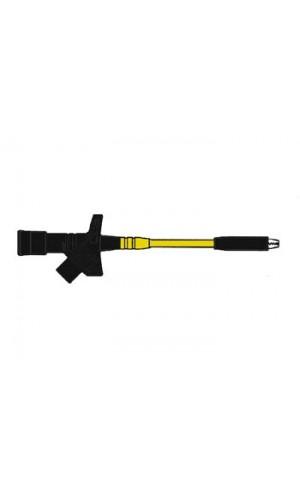 Pinza de Precisión Negra Kleps 2800 - Pinza de Precisión con gran abertura color negra (KLEPS 2800) Ref: hm6400sw