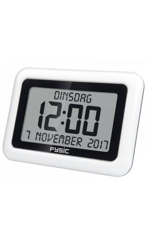 Reloj digital de pantalla extra grande con fecha y hora