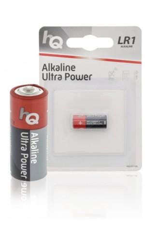 Pila Alcalina 15V LR01 - Pila alcalina tipo LR01 de 15V.Ref: hqlr1-1bl