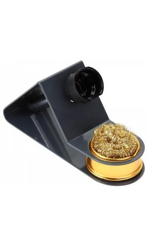 Soporte de soldador con limpiador metálico - Soporte de soldador con limpiador metálico en seco.Ref.hrv7544