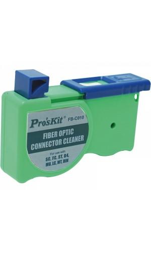 Cinta de limpieza para conectores de fibra óptica