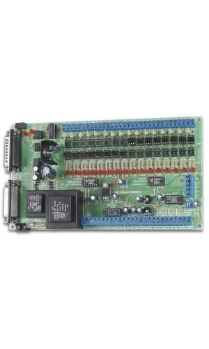 Kit Velleman Tarjeta Interface Ordenador - Kit para montar Tarjeta Interface para Ordenador.Ref: K8000
