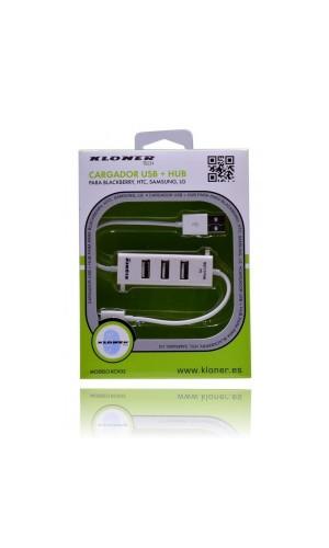 Cargador Universal USB + HUB para Samsung