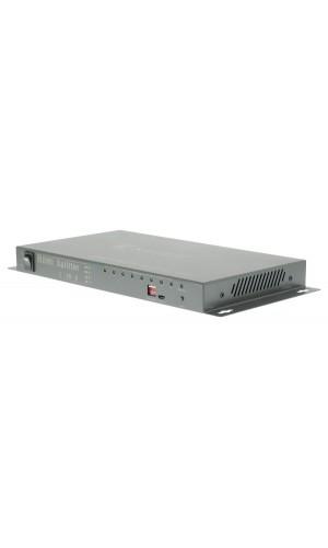 Divisor HDMI de 8 puertos con entrada HDMI y 8 salidas HDM