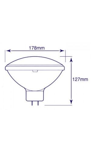 Lampara PAR56 220V 300 W GE - Lámpara PAR56.220V.300W.Ref: 88125200