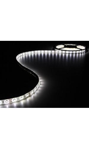 Cinta 180 Leds Blancos 3 mts + Alimentador - Juego con 180 leds flexible y alimentador incluido color blanco de 3 metros 12VDC.Ref: leds05w