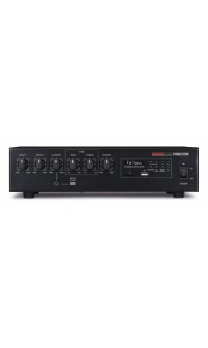 Amplificador Fonestar Megafonia 60W RMS - Amplificador de megafonía con reproductor USB/SD/MP3 y sintonizador digital de radio FM.Modelo: ma-61ru