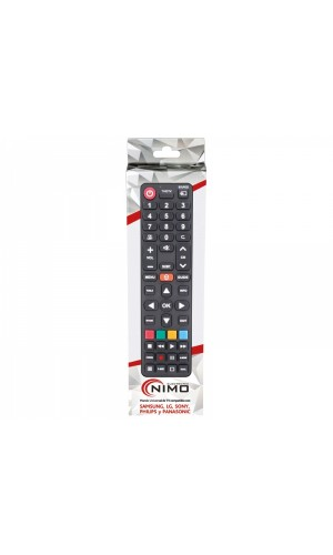 Mando directo para TVs Samsung, LG, Sony, Philips,Panasonic