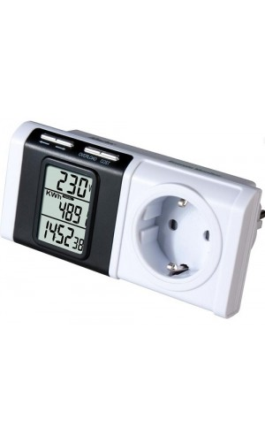 Monitor de Consumo Eléctrico Electo - Monitor de consumo eléctrico.Modelo: mel126
