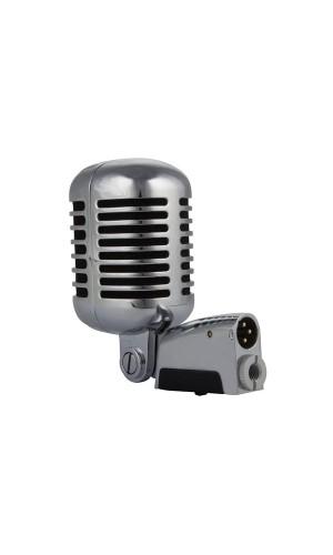 Microfono profesional estilo Retro - Micrófono dinámico profesional estilo retro de metal.Ref: micpro10