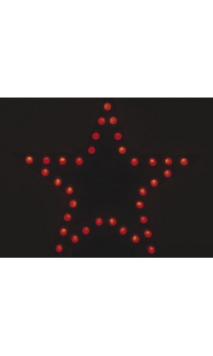 Mini Kit Estrella Intermitente Roja - Mini Kit Velleman.Estrella intermitente a leds roja.Ref: mk169r