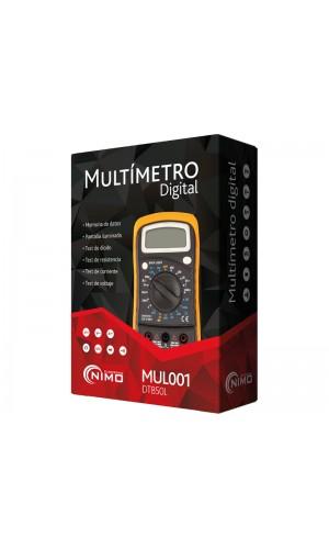 Multímetro digital básico - Multímetro digital básico.Ref: mul001