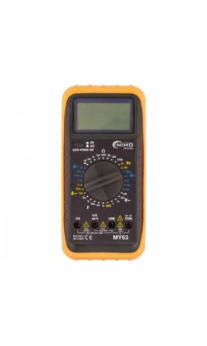 Multímetro digital de alta prestación - Multímetro digital de alta prestación MY-63.Ref: mul003