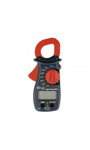 Pinza amperimétrica multifunción 600v AC/DC, 400ACA