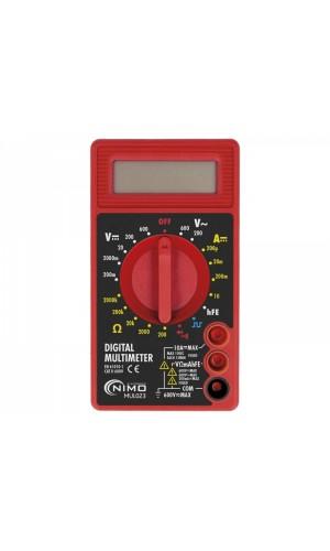 Multímetro digital 3 1/2 dígitos CAT.II 600V - Multímetro digital 3 1/2 dígitos CAT.II 600V Nimo.Ref: mul023