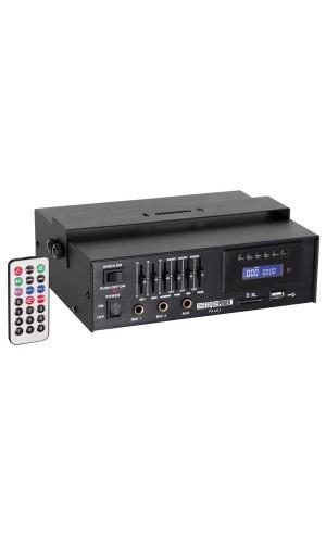 Amplificador PA de 15W rms con USB/SD - Amplificador PA de 15Wrms con entrada USB y SD.Ref: paa03