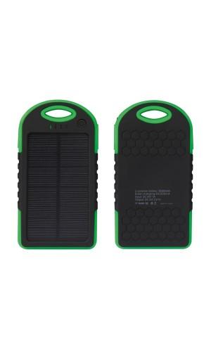 Cargador de energia solar de 5000 mAh - Cargador con banco de energia solar de 5000 mAh.Ref: pcmp32