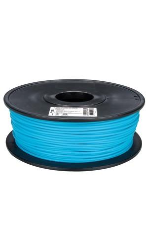 Hilo de plástico para impresora 3D azul
