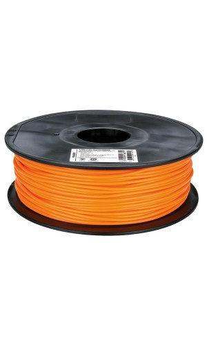 Hilo de plástico para impresora 3D naranja