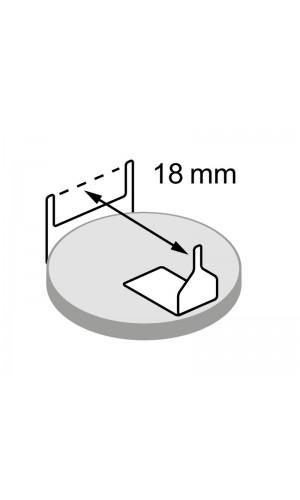 Pila Litio botón CR2032H C.I. horizontal