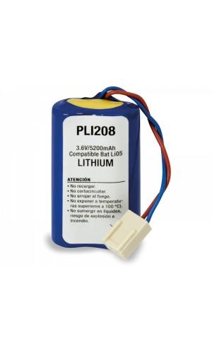 Pack Litio BATLi05 3,6V/5200mAh,para alarma