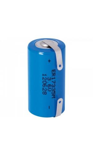 Pila Litio - ER17335 - 3,6V - Pila Litio - ER17335 - 3,6V.Ref: pli211