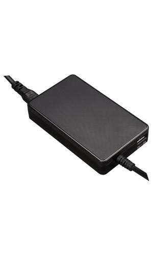 Alimentador 19V DC - 4.74A Max. sin conectores - Mini alimentador de red Universal para Notebooks salida 19 VDC - 4.74 A. Max. (90 W) + USB 2.1 A - (conectores no incluidos).Ref: psse40