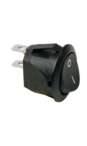 Interruptor basculante Negro - Interruptor basculante Negro - 1P SPST OFF-ON.Ref: r13245a